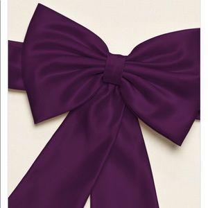 Other - Flower girl bow/belt